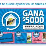 Fiesta en Twitter #LimpiaTuHogar con Bounty