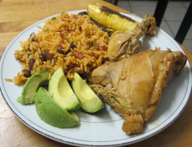 receta, arroz, mamposteao