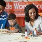 Gratis taller para niños en el Home Depot 07/07