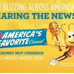 Gratis muestra de Honey Nut Cheerios