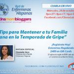 Recordatorio: Esta noche es la conversación con Clorox en Facebook y en español ¡ingresa aquí!