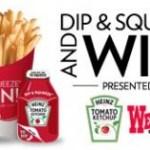 Prueba tu suerte con los juegos diarios de Wendy's (60 ganadores x día)