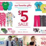 Navidad 2012: Regalos en Carter's desde $5