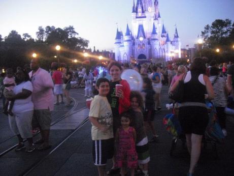 la mágica noche en Disney 2012