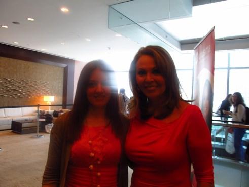 con Maria Elena Salinas