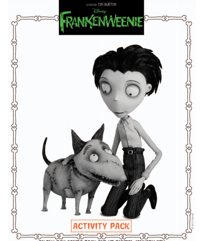 activity pack frankenweenie
