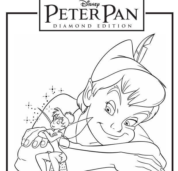 Hojas para imprimir y colorear GRATIS de Peter Pan #Disney - Mama XXI