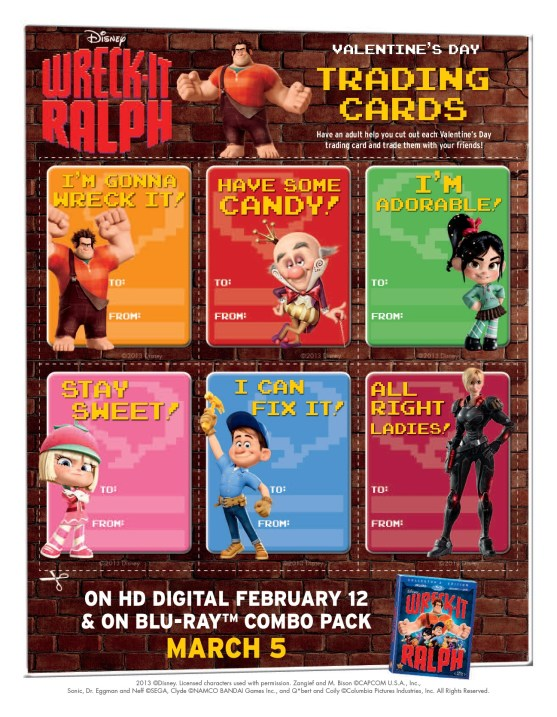 Trading Cards Wreck It Ralph