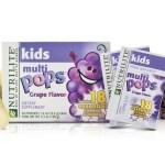 Nuevas vitaminas de Amway  NUTRILITE® Kids MULTIPOPS™ ¡y un concurso muy divertido!