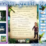 EPIC: Gratis imprimibles para colorear y actividades