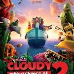 ¿Quién se va al cine? Cloudy with a chance of meatballs 2