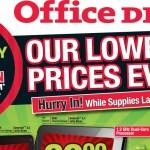 Ofertas de Viernes Negro en Office Depot 2013
