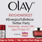 Fiesta en Twitter con Olay #EnergizaTuBelleza ¡estás invitada!