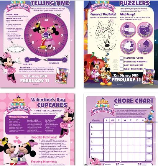 Imprimibles gratis de Minnie-rella de Disney - Mama XXI