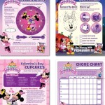 Imprimibles gratis de Minnie-rella de Disney