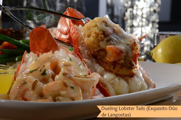 Dueling Lobster Tails (Exquisito Dúo de Langostas)