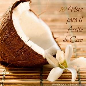 10 usos para el aceite de Coco