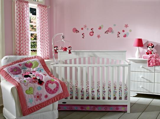 Minnie Mouse Crib Bedding Walmart