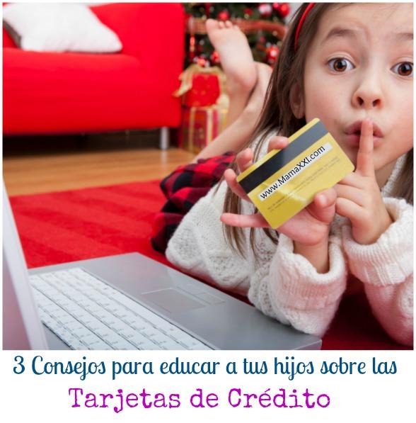 3 consejos para educar a los hijos sobre las tarjetas de crédito