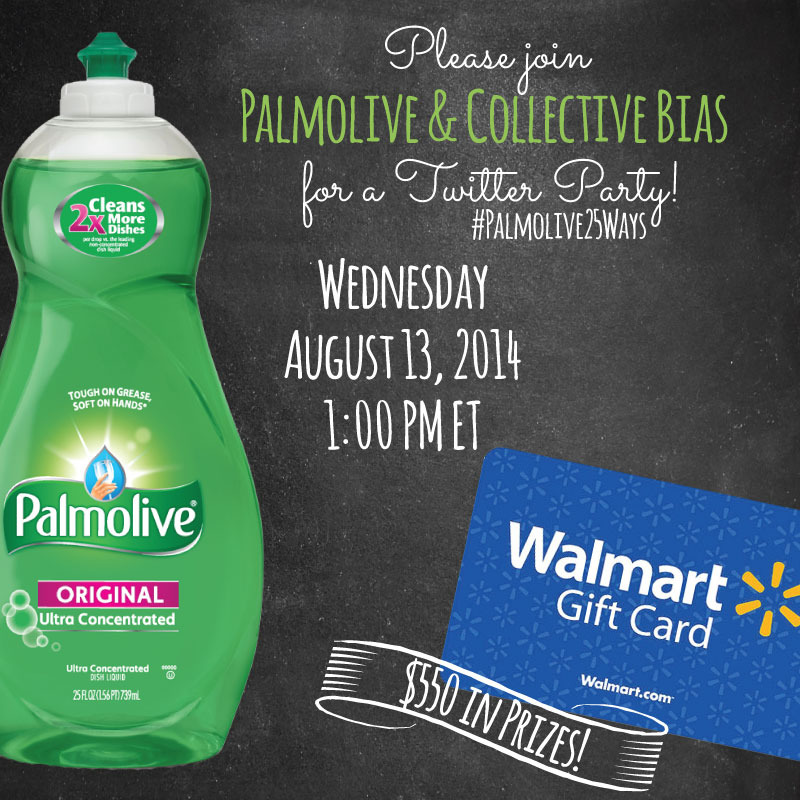#Palmolive25Ways-Twitter-Party-Badge