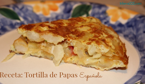 Receta: Tortilla de papas española