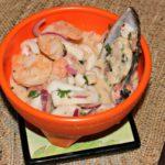 Ceviche de Mariscos: Receta de Que Rica Vida