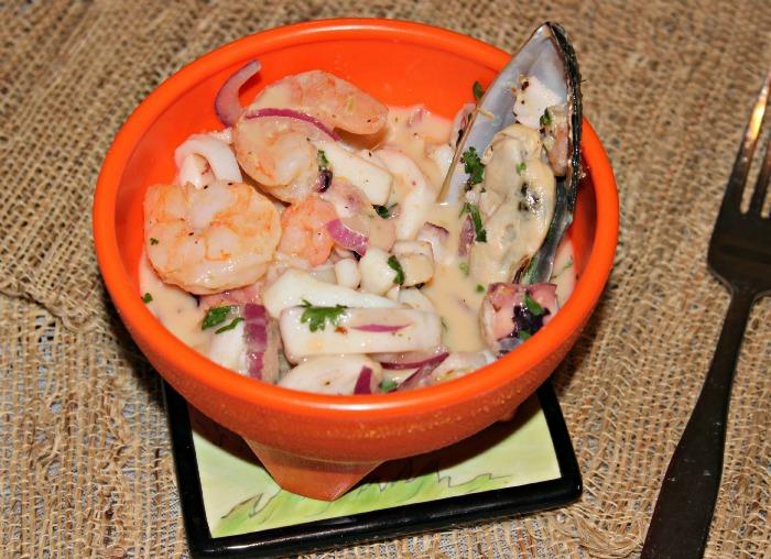 ceviche de mariscos receta