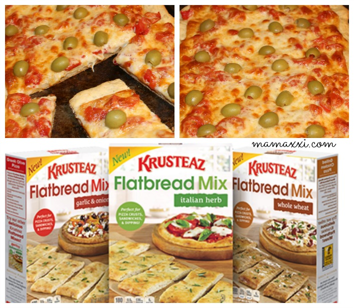 flatbread mix pizza
