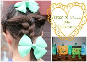 Peinado de Princesa para Halloween #NoMoreTangles