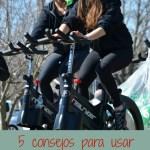 5 consejos para usar bicicleta fija sin dañar nuestra salud
