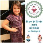 Como comprar ropa de marca para niños muy económica