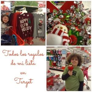Mis Regalos de Navidad en Target