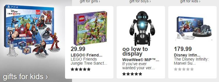 regalos de navidad para niños en target