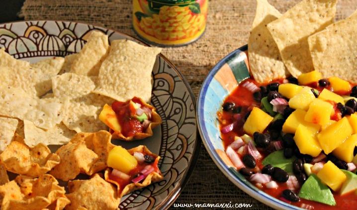 Salsa Mango Habichuelas Negras