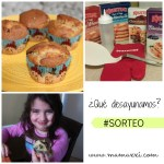 Muffins con trozos de chocolate #sorteo #BreakfastNight