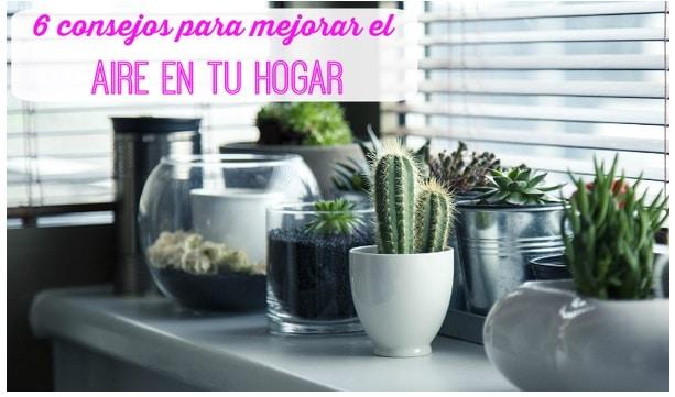 6 consejos para mejorar el aire del hogar