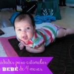 Actividades para estimular a tu bebé de 4 meses.