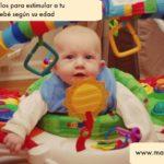 Regalos para estimular a tu bebé segun su edad