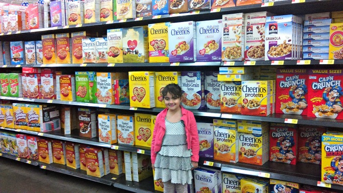 Sarah en el Walmart