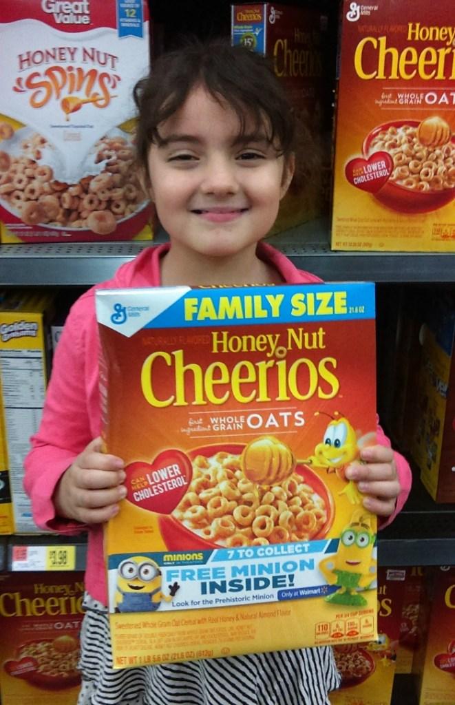 Sari con los cereales
