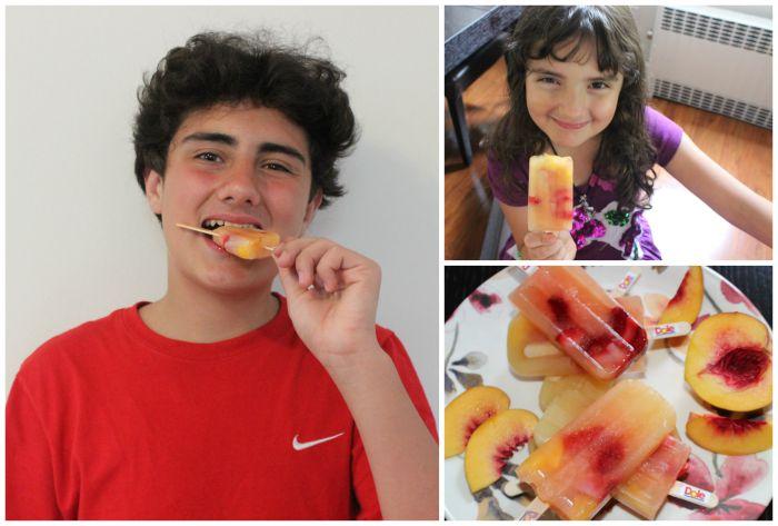 Deliciosas Paletas de Frutas