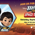 Estás invitada! #MilesFromTomorrowland Space Mission Mars Twitter Party