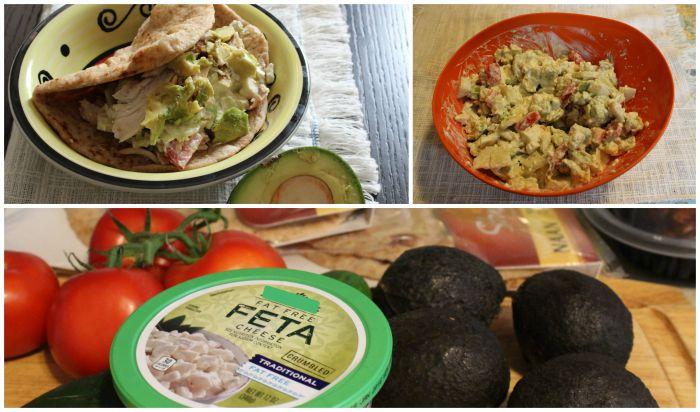 Receta Pita Sandwich Ensalada Griega