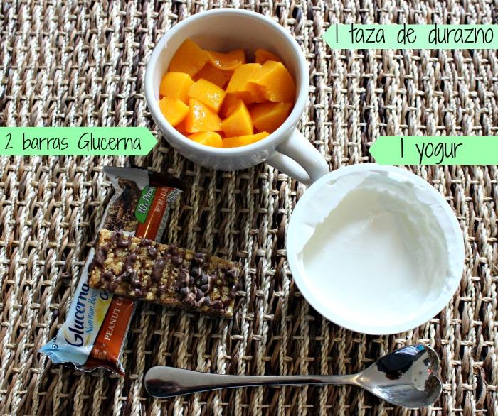 Receta Parfait sin azúcar
