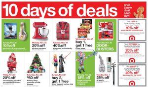 10 días de ofertas de Viernes Negro en Target #BlackFriday