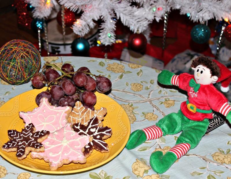 Galletas dulces navideñas