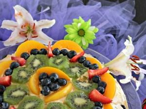 Torta de Frutas y Dulce de Leche #SienteGlade