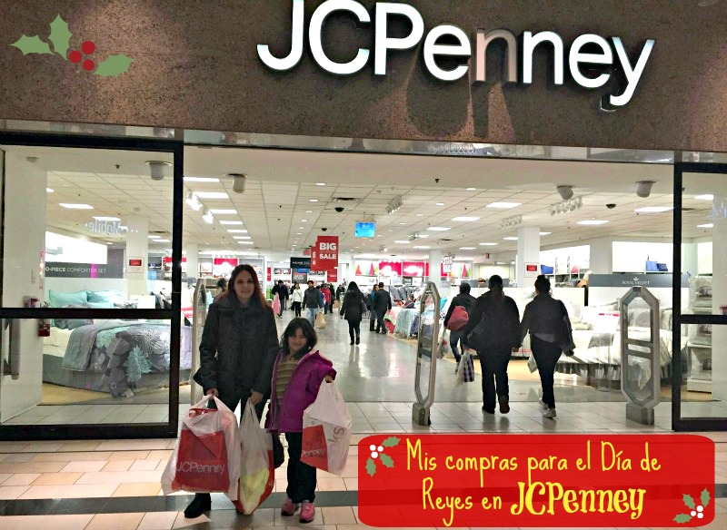 Mis compras para el día de reyes e jcpenney