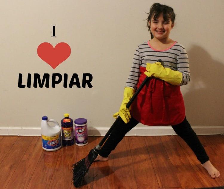 I love limpiar