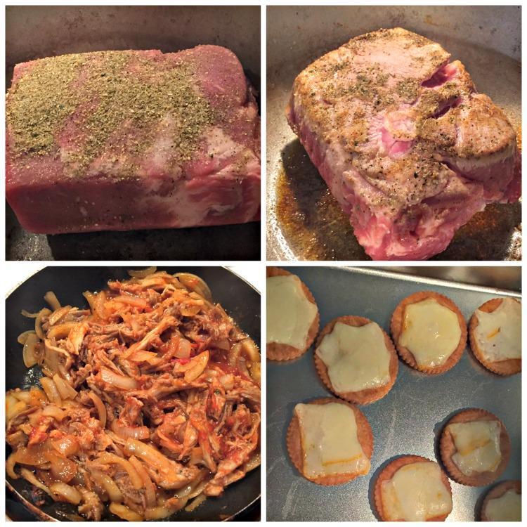 receta, cerdo, paso a paso, pulled pork